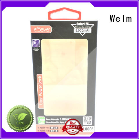 Welm foldable barbie doll packaging box with hot satmp logo for business pen
