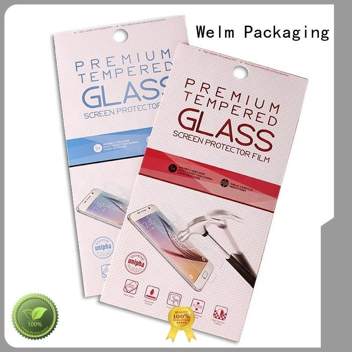 white electronics packaging companies color with pvc window for men