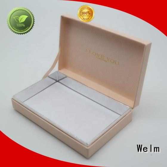 Welm gift boxes wholesale custom made for lip stick