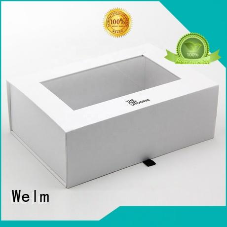 Welm pvc gift box customized for toy