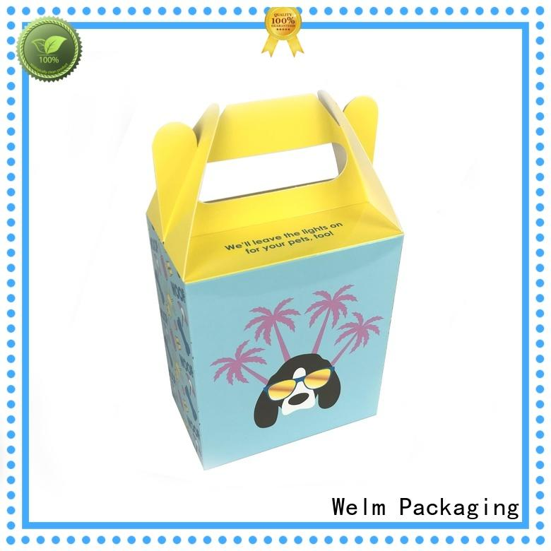 Welm recyclable food packaging manufacturers with color printed food grade material for gift