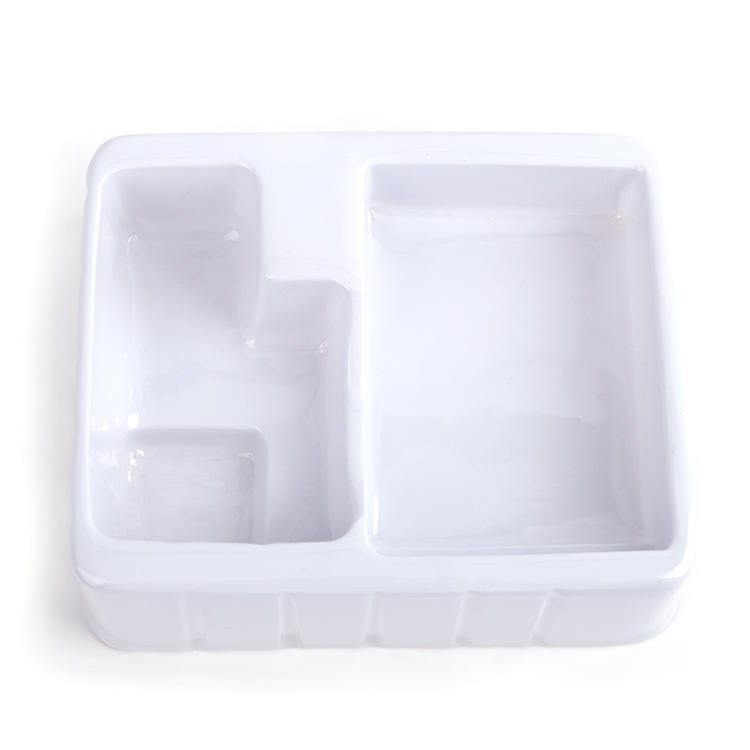 High Quality custom plastic white vacuumed blister packaging for cosmetics and toy-1