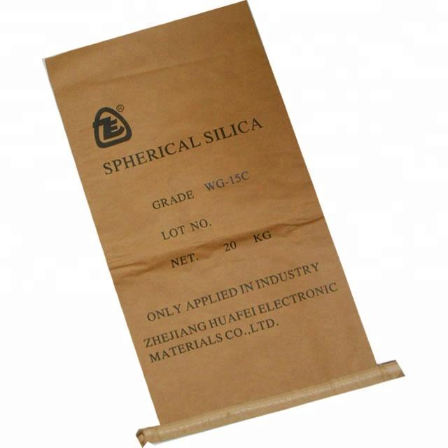 logo customized brown craft paper bag-2